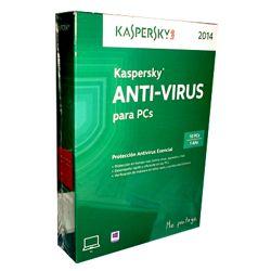 PROG. ANTIVIRUS KASPERSKY BASICO 10 USUARIOS CD __ ..Cód: 9671